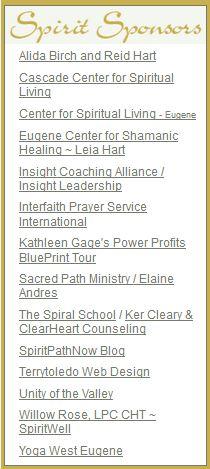SpiritPathNow SPIRIT Sponsors