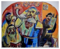 Rebbis and shofar
